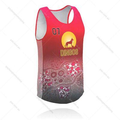 S2-K+RUN Kids Full-Custom Athletics, Running & Event Singlets - X Series Elite