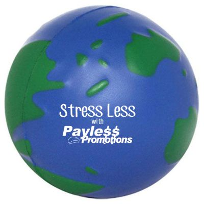 S21 Earth Blue Green Personalised Travel Stress Shapes