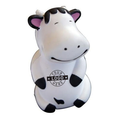 S217 Dancing Cow Promotional Animal Stress Balls