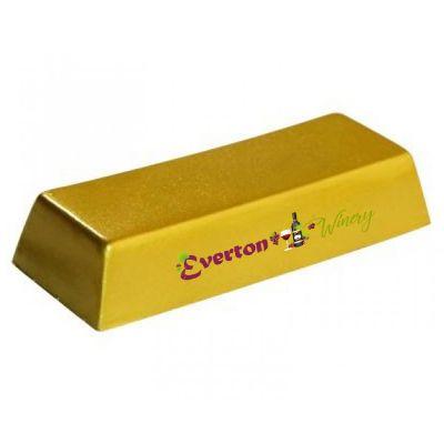 S230 Gold Bullion Promotional Money / Finance Stress Shapes