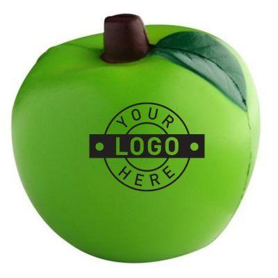 S48B Apple Green Promotional Food Stress Balls