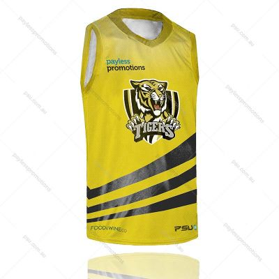 BS5-M Full-Custom Sublimation Muscle-Cut Reversible Basketball Shirts