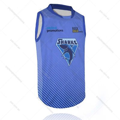 BS4-M Full-Custom Sublimation Muscle-Cut Basketball Tops - X Series Elite