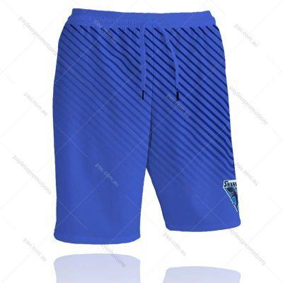 SH2-M Full-Custom Sublimation Long Workout Shorts (No Pockets) - S Series
