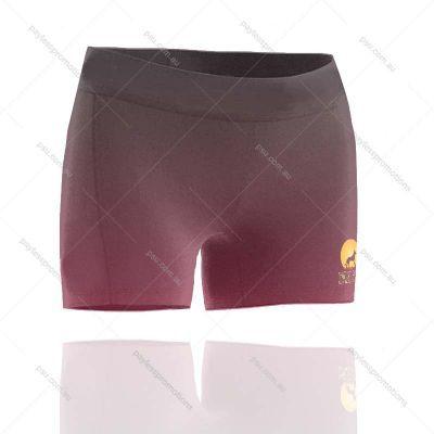 SH4S-L+DAN Ladies Full Custom  Dance Shorts - S Series