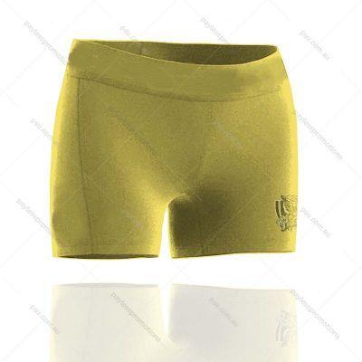 SH5S-L+DAN Ladies Full Custom  Dance Shorts - X Series Elite