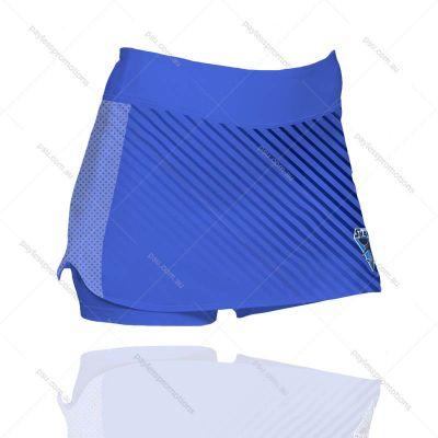 SK3-L Ladies Full-Custom  Hockey Skirts With Built In Shorts- X Series Elite