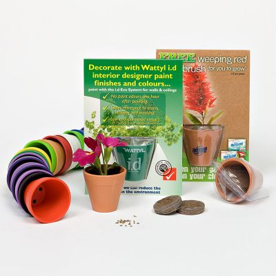 SPT Seedpot Promo Grow Kits - With Seed Satchets