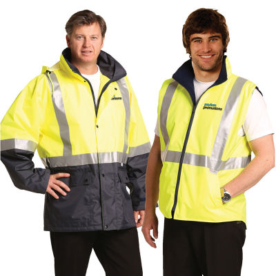 SW20A 3 in 1. SW20A = SW18A + SW19A Promotional High Visibility Jackets With 3M Reflective Tape (XL)