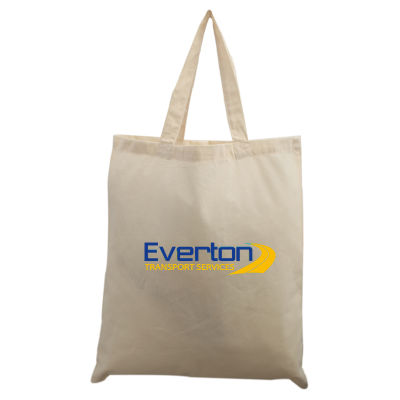TB020 Traditional Custom Calico Carry Bags Without Gusset (38cm x 42cm)