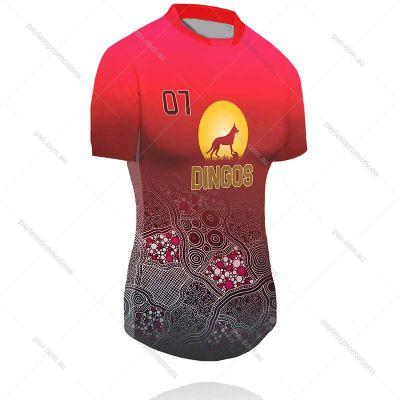 TS2-L+TF Ladies Full-Custom Touch Football Jerseys - X Series Elite