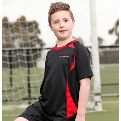 TS85K Kids Shoot Soccer Shirts