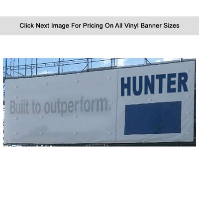 VBC Standard 440 gsm Banner With Single Sided Print & Wind Holes