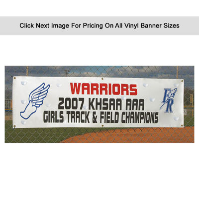 VBD 550 gsm Heavy Duty Banner With Single Sided Print & Wind Holes