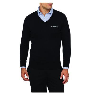VJECR03 Van Heusen Casual Uniform Knit Wear Jumpers - Black Only
