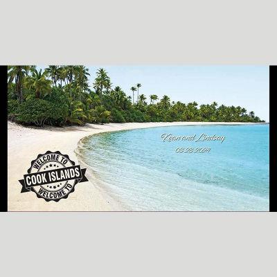 WD115 Cook Island Wedding Stubby Holders