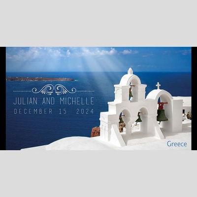 WD22 Greece Wedding Stubby Holders