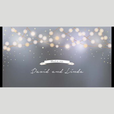 WD75 Abstract Wedding Stubby Holders