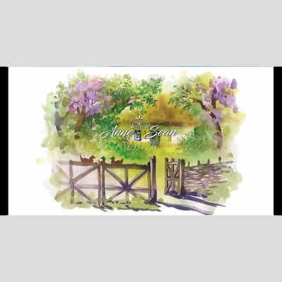 WD93 Landscape Wedding Stubby Holders - (4-6 Week Dispatch)