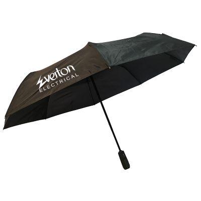 WL0042 Director Promotional Corporate Umbrellas With Steel Shaft & Steel-Fibreglass Ribs