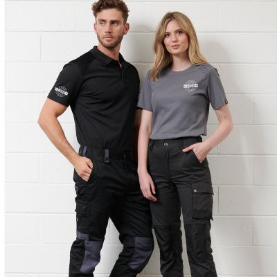 WP05 Unisex Utility Stretch Cargo Custom Workwear Pants