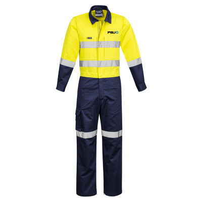 ZC804 Rugged Cooling Custom Overalls With Hoop Reflective Tape