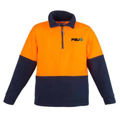 ZT460 Unisex Branded High Vis Polar Fleece With Side Seam Pockets