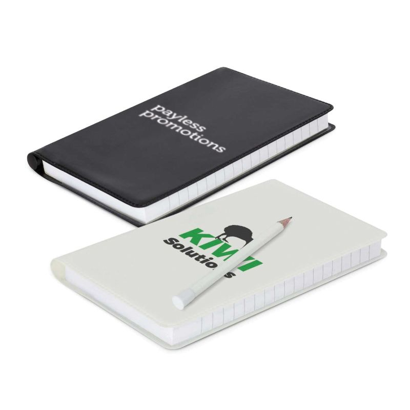 109868 Maxima Promotional Note Pads With Pencil - 140 Pages
