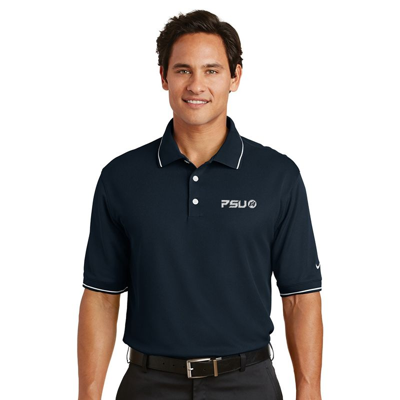 319966 NIKE GOLF Classic Tipped Branded Polo Shirts