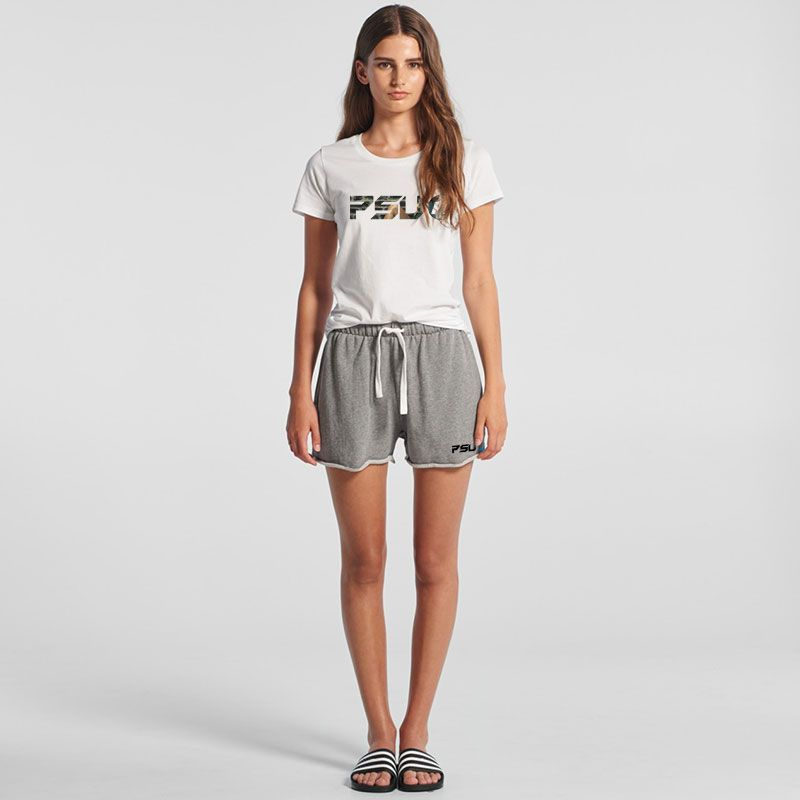 4039 Ladies Perry Track Club Workout Shorts