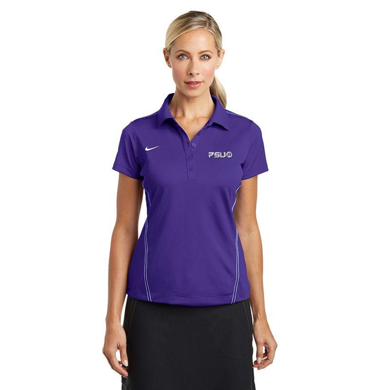 452885 Ladies NIKE GOLF Sports Swoosh Pique Branded Polo Shirts