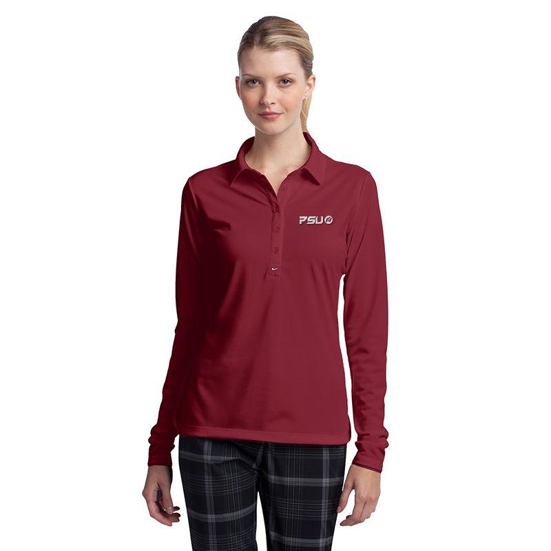 545322 Ladies NIKE GOLF Stretch Tech Uniform Polo Shirts
