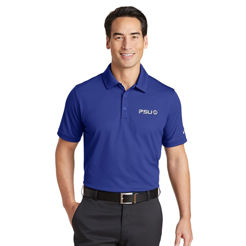 746099 NIKE GOLF Solid Icon Pique Branded Polos