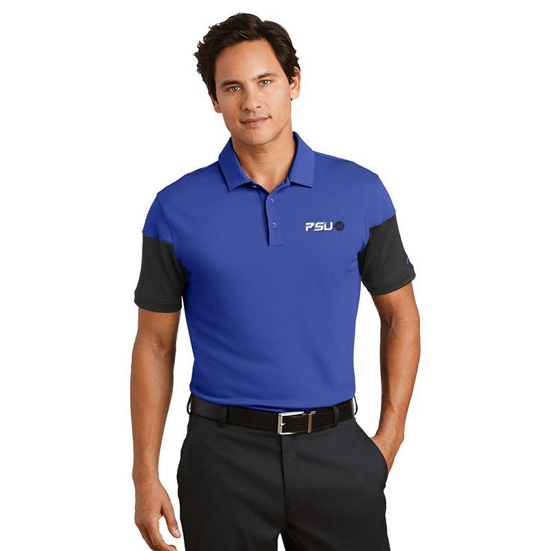 779802 NIKE GOLF Sleeve Colourblock Branded Polo Shirts