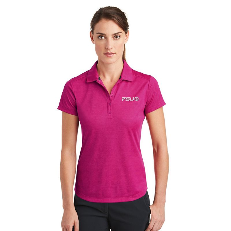 838961 Ladies NIKE GOLF Crosshatch Embroidered Polo Shirts
