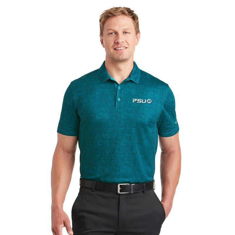 838965 NIKE GOLF Crosshatch Branded Polo Shirts