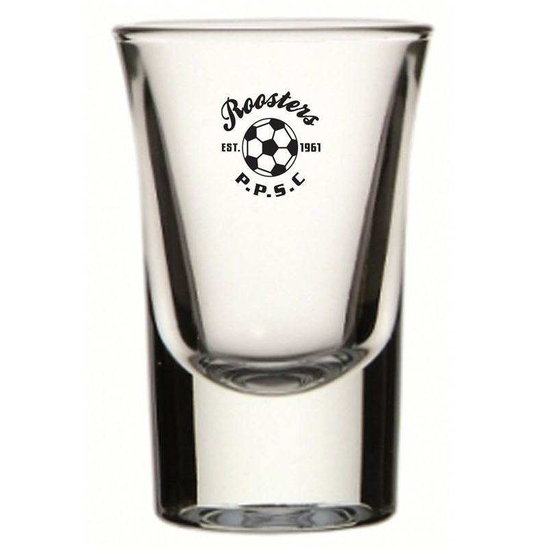 GLSH752174 40ml Boston Promotional Shot Glasses