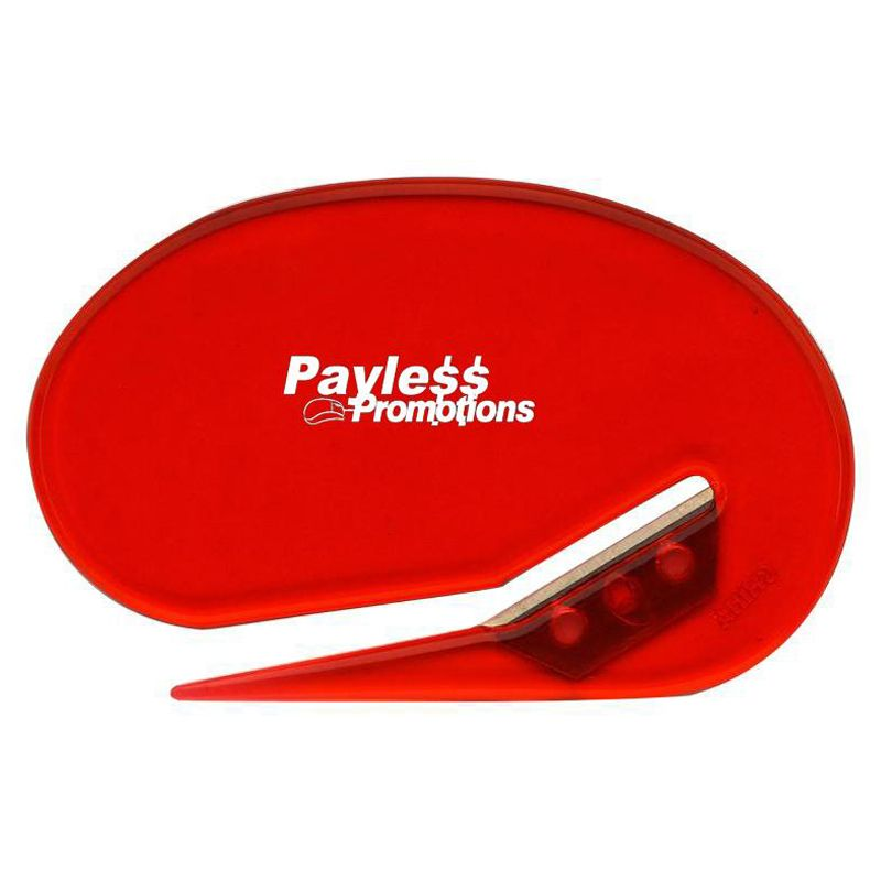 LOP01 Oval Branded Letter Openers