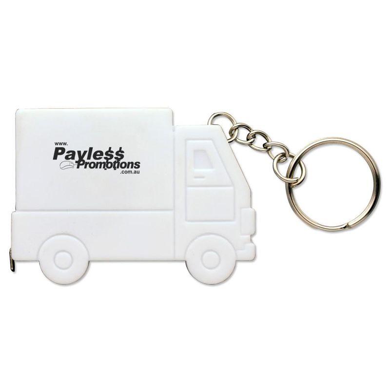 T02 1 Metre Truck Keyring Promotional Tape Measures