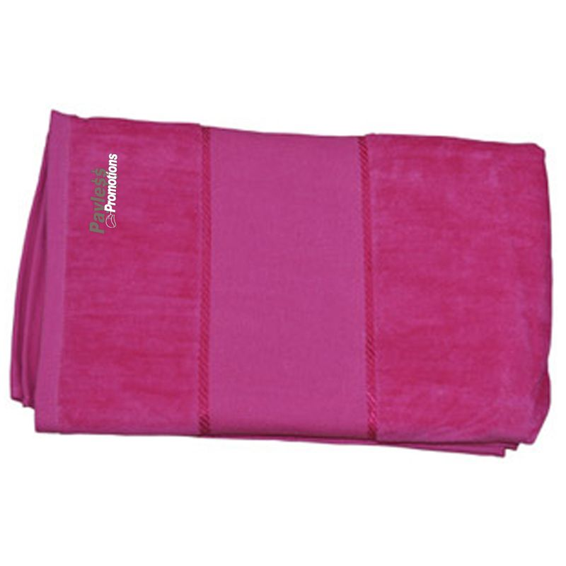 TW04A 150 x 75cm Terry Velour Custom Pool Towels