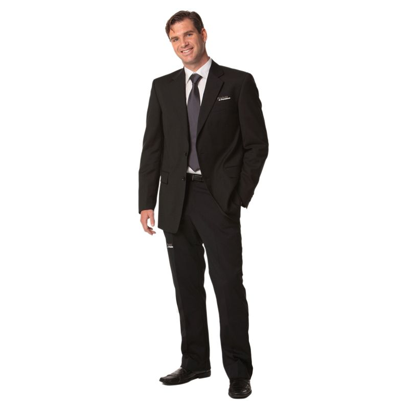 M9330 Deluxe Poly/Viscose Corporate Slacks With Stretch