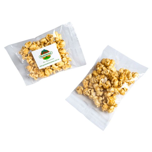 CC060F2 Caramel Popcorn Filled Promo Lolly Bags - 30g