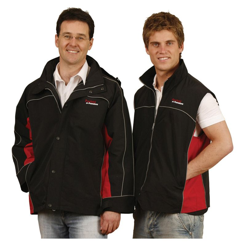 JK18 Teammate 3-in-1 Vest & Custom Rain Jackets With Removable Vest & Concealed Hood