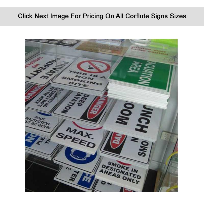CS Corflute Signs - 5mm