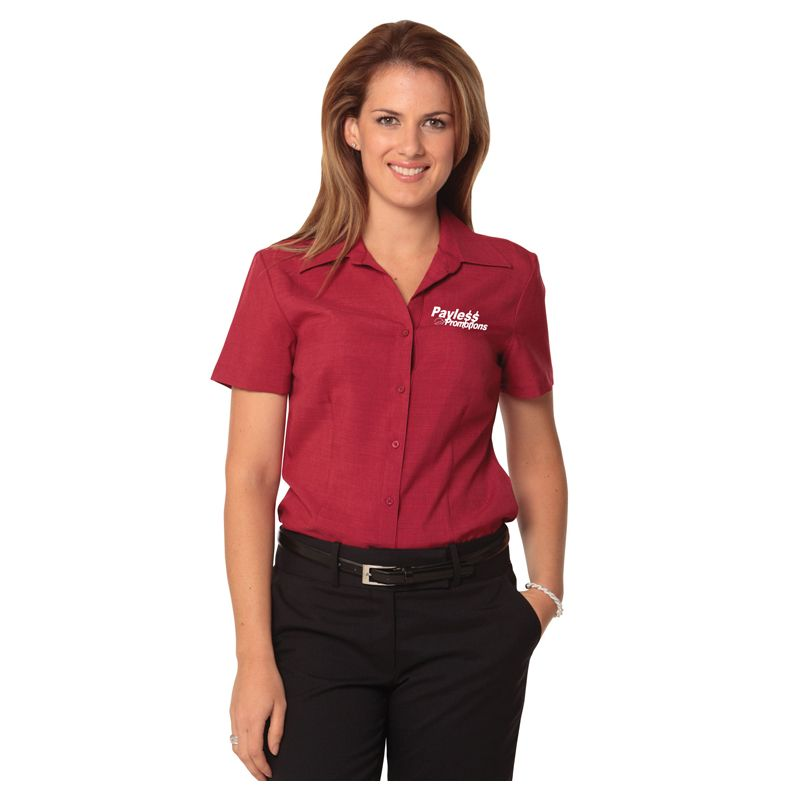 M8600S Ladies CoolDry Embroidered Business Shirts - Benchmark Range