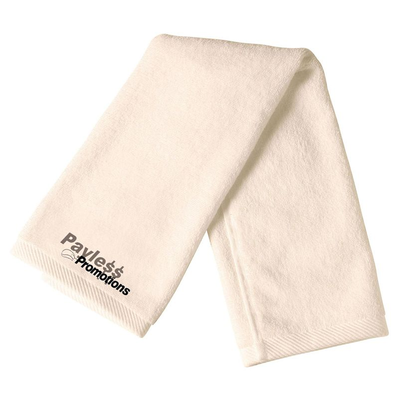 TW02 Terry Towel Imprinted Hand Towels