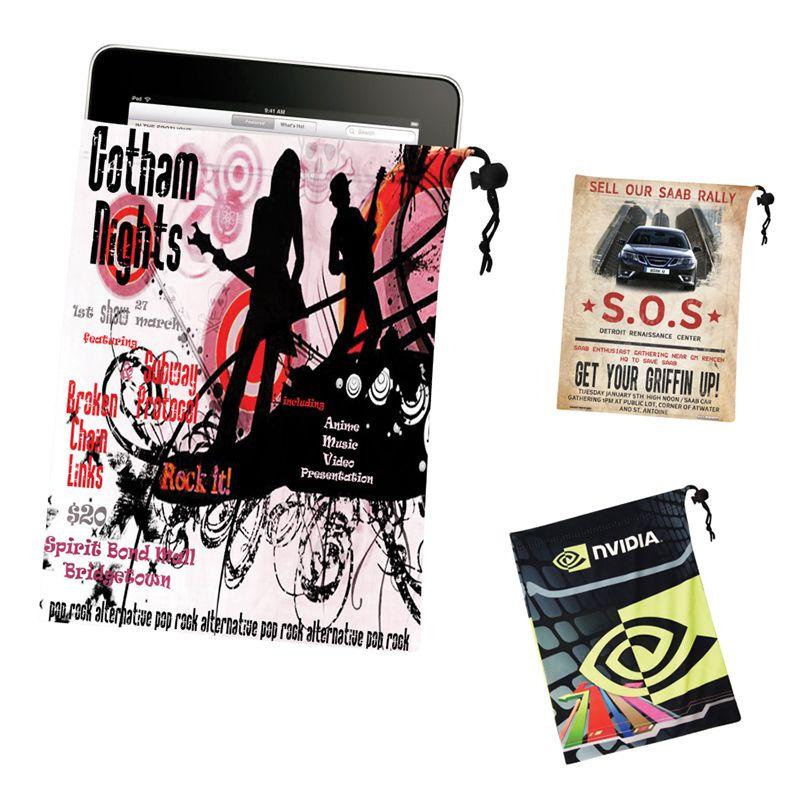 K817 Microfibre Printed Tablet Pouches