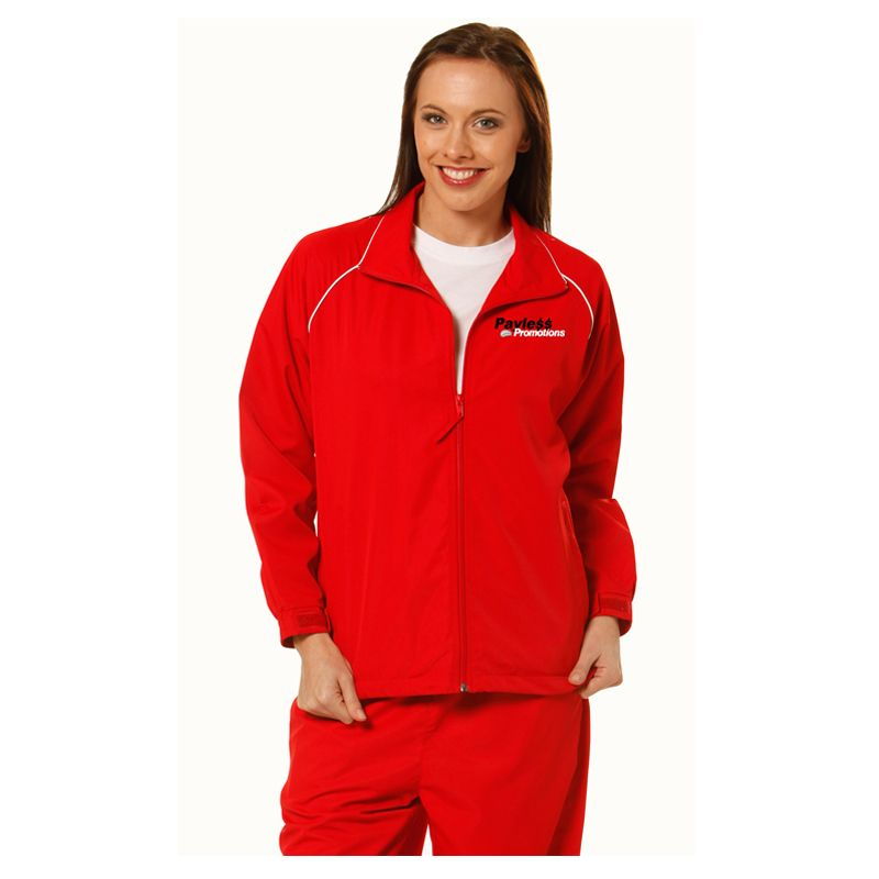 JK21 Unisex Champion Embroidered Track-Suit Jackets