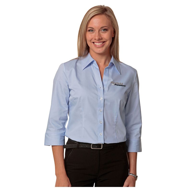 M8030Q Ladies Comfort Embroidered Corporate Shirts - Benchmark Range