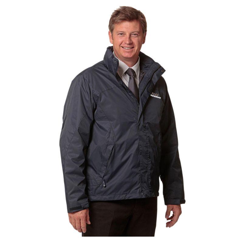 JK35 Versatile Embroidered Casual Jackets With Detachable Hood (Can Zip To JK37 Vest)